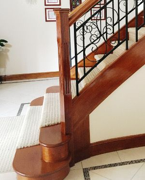 Bio Varnish on Stairs and balusters