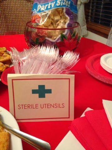 Nursing graduation party.