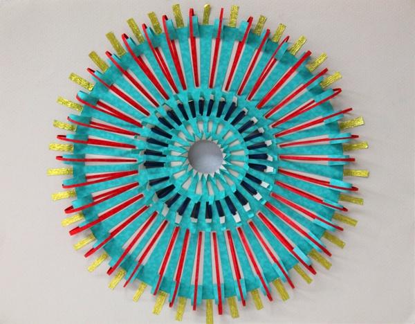 'Verde' Paper cut by Diana Beltrán Herrera: Objects Paper, 20 Stunning, Cut Diana Beltran, Paper Cut Diana, Paper Inspiration, Beltrán Herrera