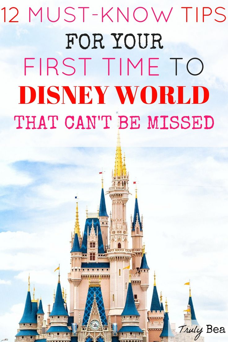12 Must- Know Tips for Your First Time to Disney World that Can't Be Missed. Wow!! This is an incredible list of tips for not only first timers but also for all Disney vacationers!! She does an excellent job-you'll want to pin and read!!