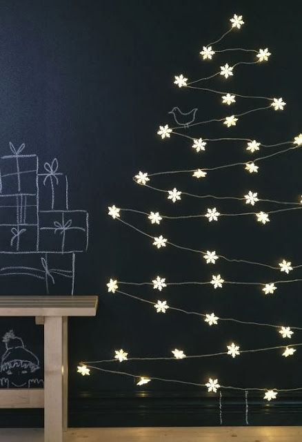 Get these pretty flower fairy lights at IKEA. Priscilla Mae et al