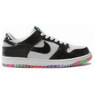 Shopping 240976 Nike SB Dunk Low Women White Black Tourmaline Shoes