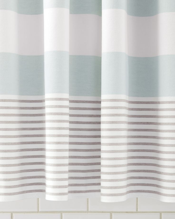 Brown Shower Curtains best 10+ striped shower curtains ideas on pinterest | coral shower