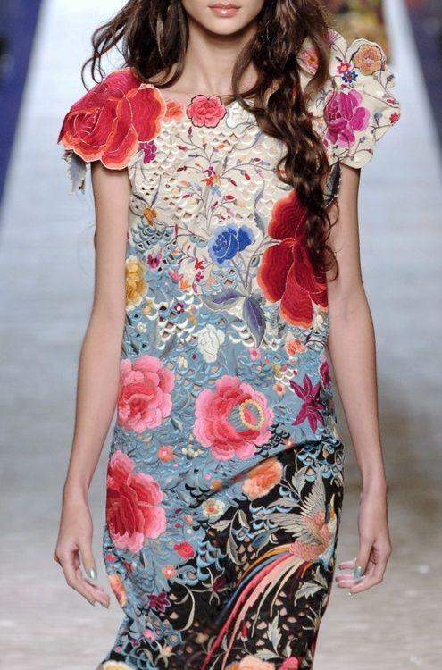 Jean Paul Gaultier flowers