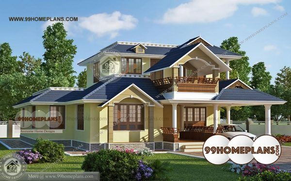 Exterior Design Of Indian Houses With Best Elevation Ettukettu Patterns