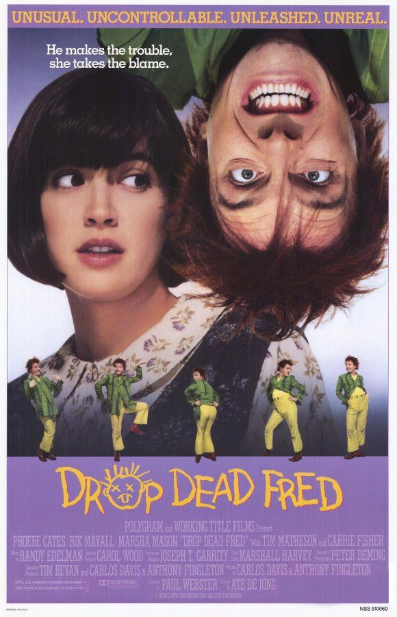 """CAST: Phoebe Cates, Rik Mayall, Tim Matheson, Marsha Mason, Carrie Fisher, Daniel Gerroll, Ron Eldard; DIRECTED BY: Ate De Jong; PRODUCER: Polygram, Working Title Productions; Features: - 11"""" x 17"""" -"""