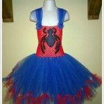 Spiderwoman tutu dress - a fabulous Halloween fancy dress outfit by Monika's Magic Craft