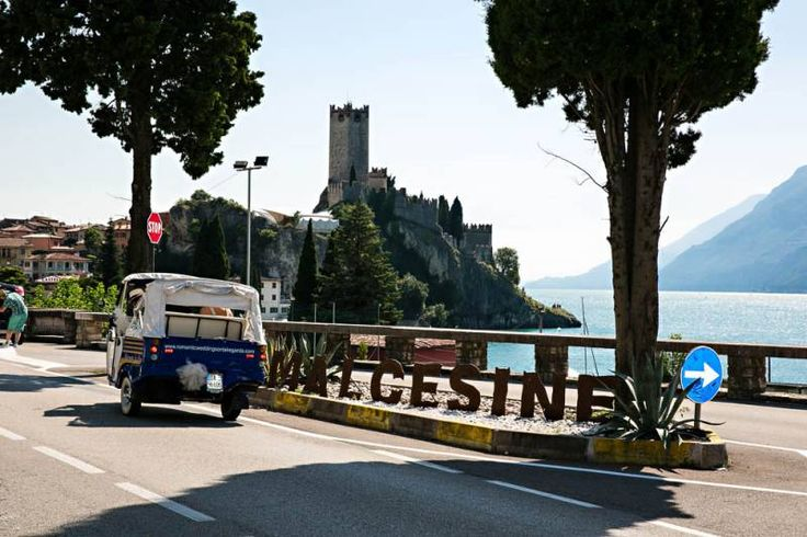 Malcesine Castle from the street- Romantic Weddings on Lake Garda | Wedding planners for the most romantic Lake Garda weddings in Italy