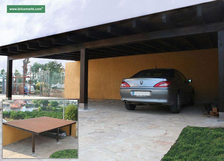Las 25 mejores ideas sobre vigas de madera laminada en pinterest madera laminada vigas - Porches para coches ...