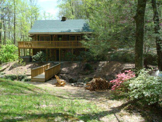Blackberry Creek Cabin - Blue Ridge NC Mountain Cabin Rentals Blowing Rock NC Boone NC