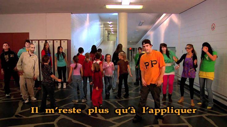 Le RAP des participes passés - version karaoke