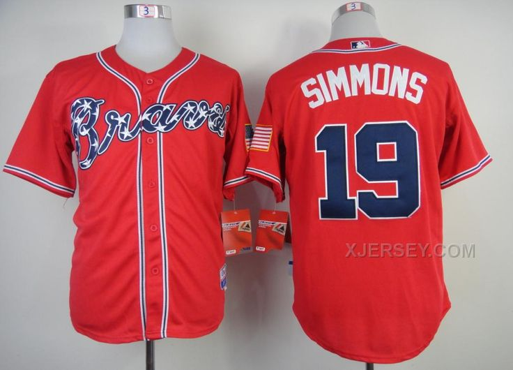 http://www.xjersey.com/braves-19-simmon-red-cool-base-jerseys.html BRAVES 19 SIMMON RED COOL BASE JERSEYS Only 32.17€ , Free Shipping!