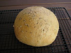 Bread Machine Rosemary Herbed Bread Like Macaroni Grill Ingredients • 1 cup water • 3 Tablespoons olive oil • 2 1/2 cups f...