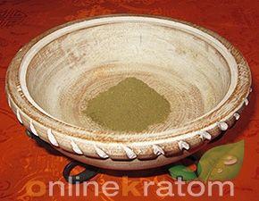 Borneo Kratom   Kali Indonesian Red Vein Kratom leaf and powder