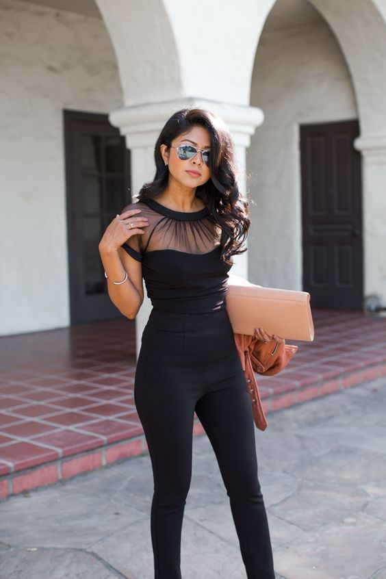 sexy shirt with sheer details