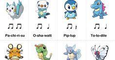 Pokemon Rhythm Cards!