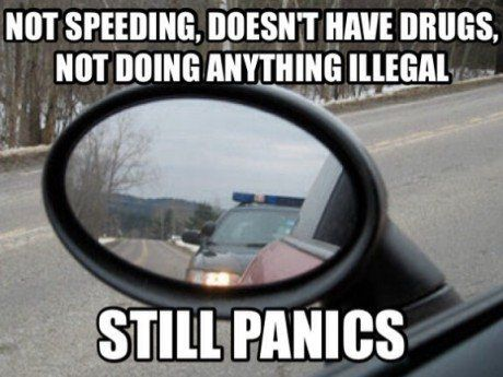 Funny Cop Jokes | funny-police-speed-road-car-panic