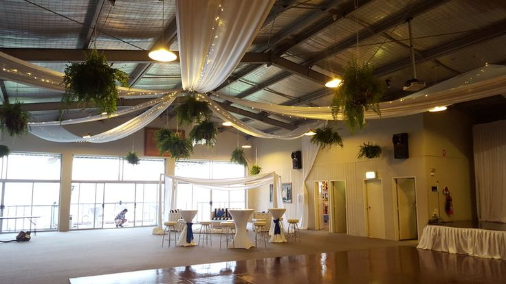 Ceiling decorating and ceiling draping for weddings and events.
