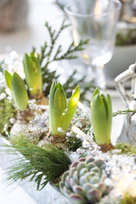 Nyårsdukning - pyssla till nyår!   Blomsterlandet.se