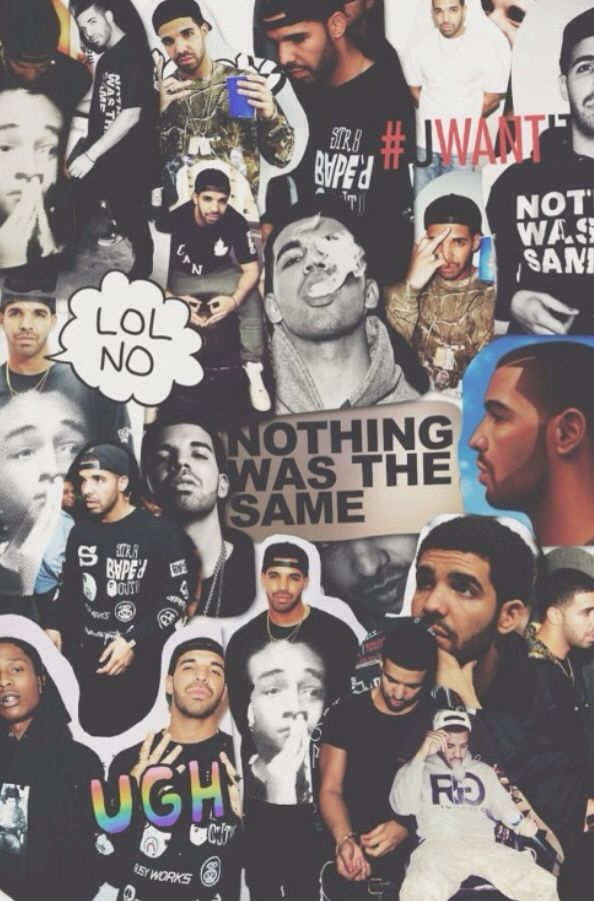 Best 25 drake iphone wallpaper ideas on pinterest drake - Drake collage wallpaper ...