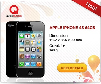 banner promovare iphone 4s