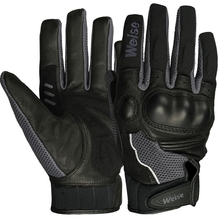 What should be the consideration for the use of textile motorcycle gloves?