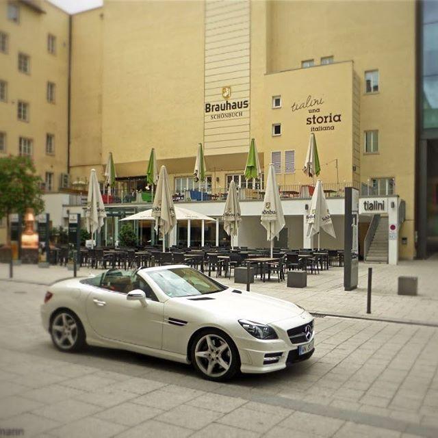 #Brauhaus #Schönbuch in #Stuttgart - #SLK #slc #Mercedes #german #roadster #beer #Brauerei #mbfanphoto
