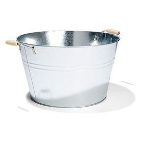 20L Galvanised Metal Bucket