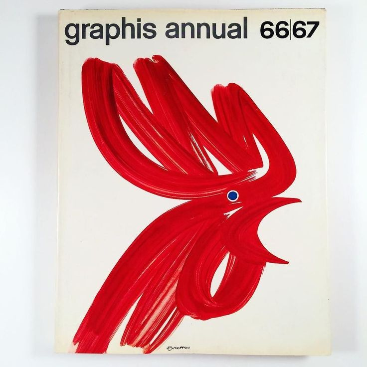 Graphis Annual cover by Roger Excoffon 1967