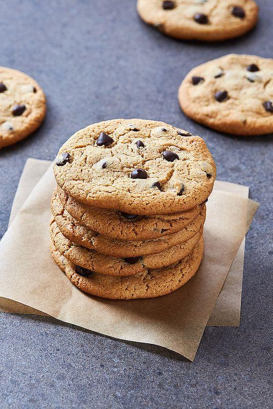 Perfect Grain-free Chocolate Chip Cookies {gluten-free, paleo, egg-free, dairy-free}