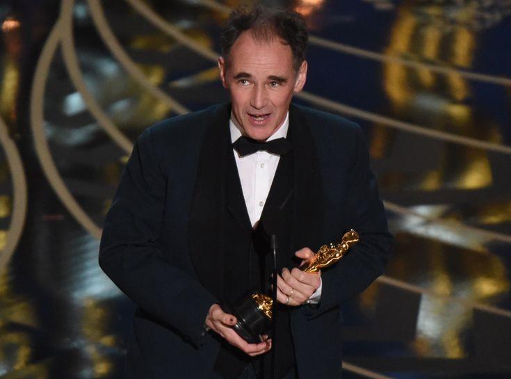 Mark Rylance from Oscars 2016: Winners | E! Online