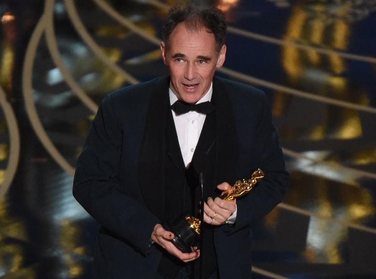 Mark Rylance from Oscars 2016: Winners  Actor in a Supporting Role