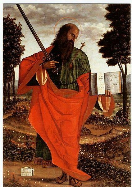 San Paolo  stigmatizzato. 1520. San Domenico.  Chioggia