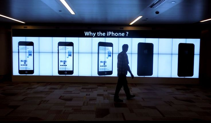 Why the #iPhone ? #VideoWall!