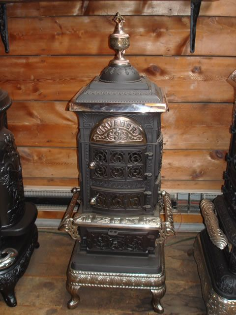 Old And Antique Cole Stoves Red Cross Ensign Mica