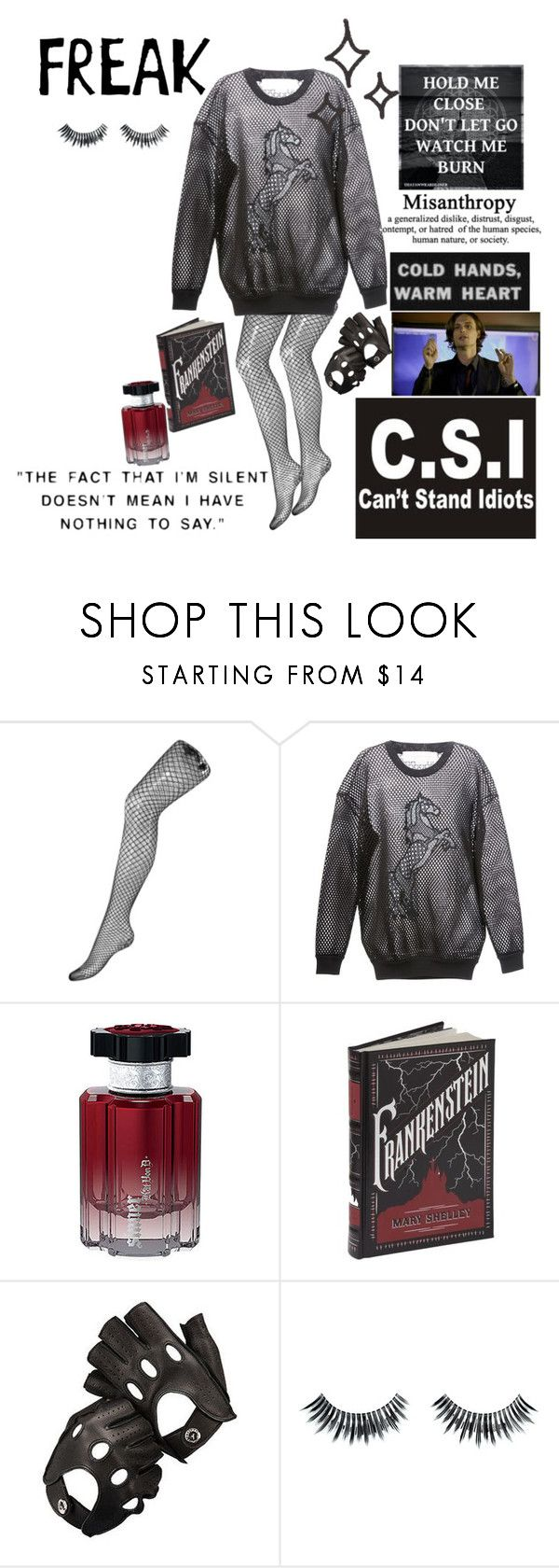 """Time For A Criminal Minds Marathon"" by pyrokittenkat ❤ liked on Polyvore featuring STELLA McCARTNEY, Kat Von D, Aspinal of London, Napoleon Perdis and Religion Clothing"