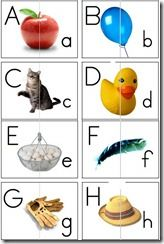 Upper Lower Case Matching Cards