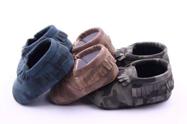 Новый Твердые Камо Leopard Стиль Младенческая Малышей Мальчики Девочки Дети Впервые Walkers Обувь Новорожденных Детские Мокасины Soft Moccs Детская Обувь Zapatos #jewelry, #women, #men, #hats, #watches