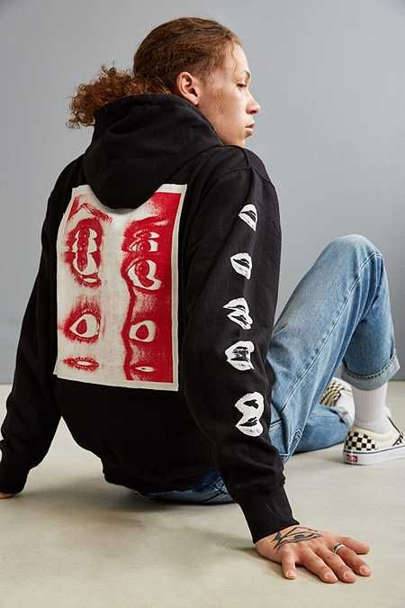 Division Of Labor Inner Vision Patch Hoodie Sweatshirt