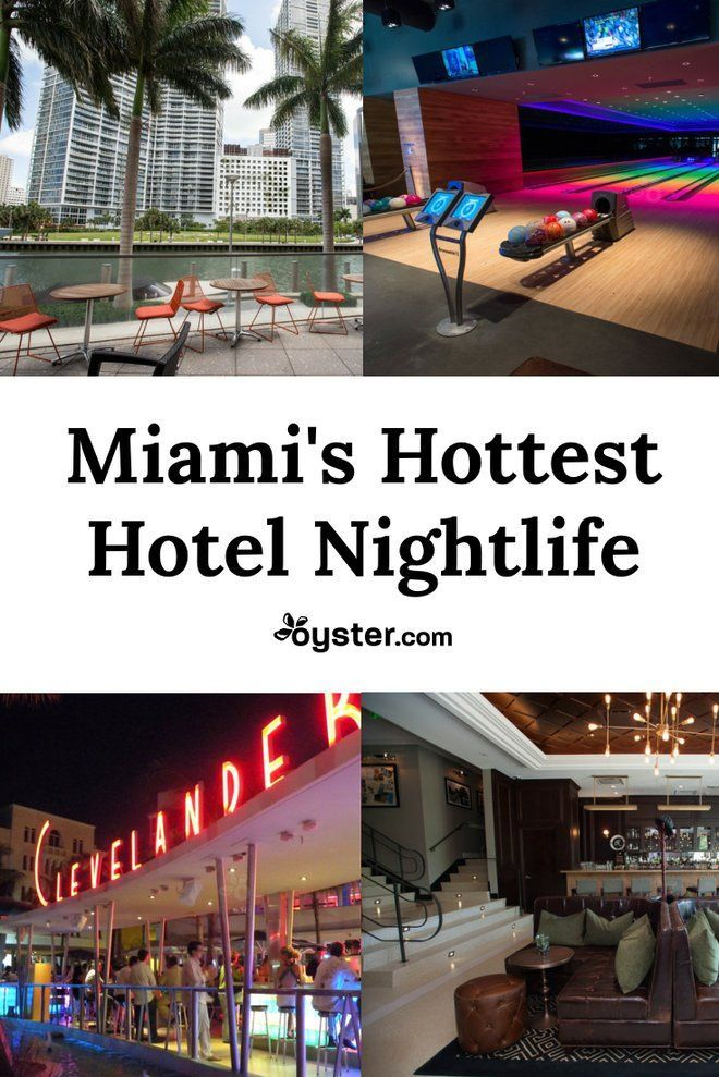Miami Hotels With Can T Miss Nightlife