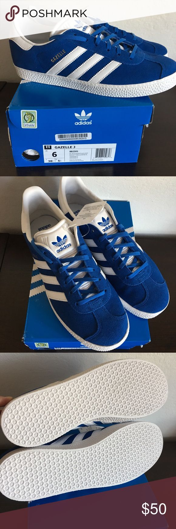 Adidas Gazelle Youth Size 6 Brand brand with box, youth size 6. For both girl and boy. adidas Shoes Sneakers
