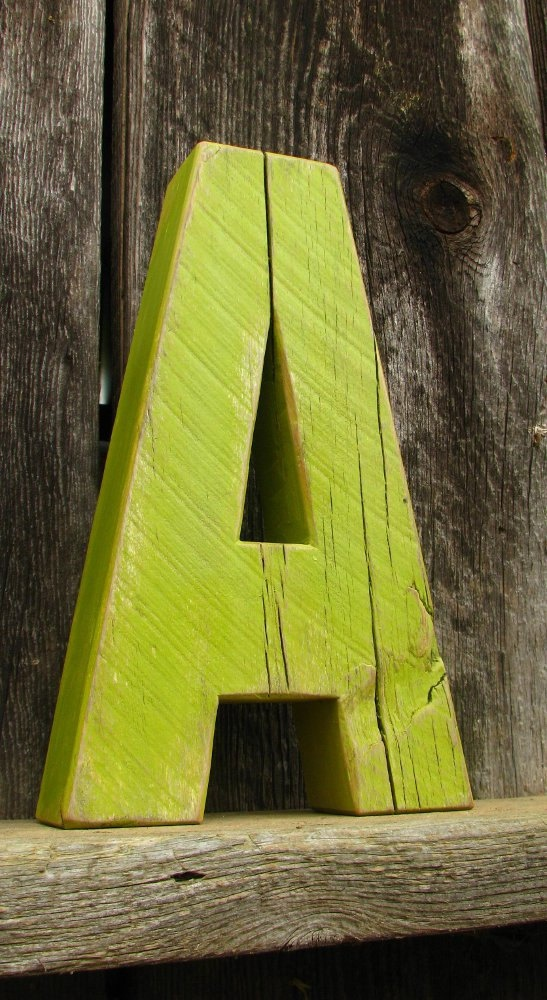 44 best our barn wood letters images on pinterest wood for Big wooden letter b