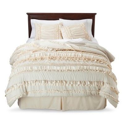 25 Best Ideas About Ruffled Comforter On Pinterest