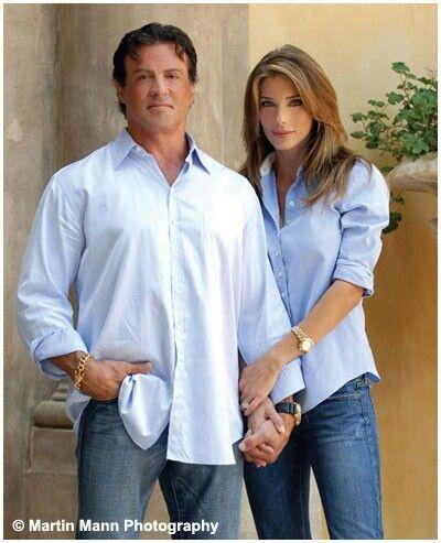 Sylvester Stallone & Jennifer Flavin Stallone