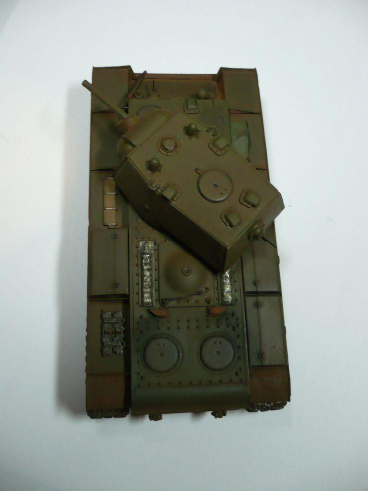 Hobby Boss 1/48 KV1 small turret .