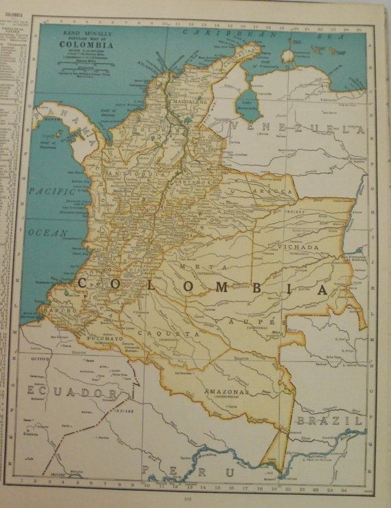 40 mejores imgenes de colombia 3 en pinterest colombia bandera colombia mapsouth america map artplace on the world map1943 9 gumiabroncs Choice Image