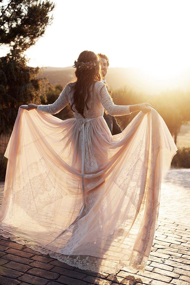 boda madrid finca vestido novia helena mareque romantic wedding spain