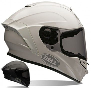 Bell Star Solid Mens Street Riding Racing DOT Motorcycle Helmets