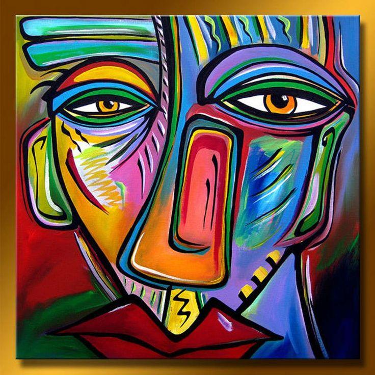 Wonderful Abstract Face Paintings Ao98 Advancedmassagebysara