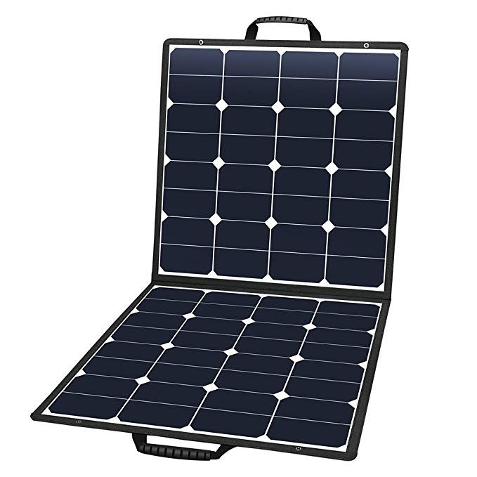 Suaoki 100w 18v 12v Solar Panel Charger Sunpower Cell Portable Foldable With Dual Output 5v 2a Usb Solar Panel Charger Portable Solar Panels 12v Solar Panel